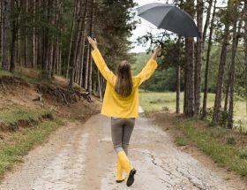 Regenjas zomer